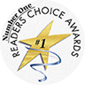 Number One Readers Choice Awards